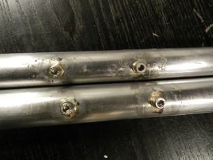 Visible improvement in my brazing...