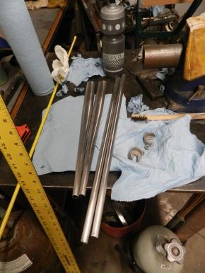 Pre-cut tubes